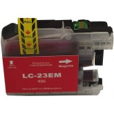 Brother LC 23E Magenta Compatible Ink Cartridge
