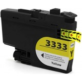 Brother LC 3333Y Yellow Compatible Ink Cartridge