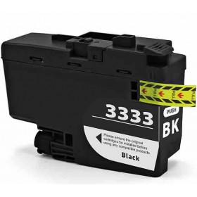 Brother LC 3333BK Black Compatible Ink Cartridge