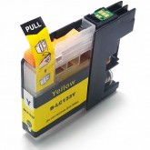 Brother LC 133Y Yellow Compatible Ink Cartridge
