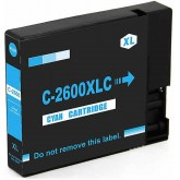 Canon PGI-2600XL Cyan Compatible Ink Cartridge