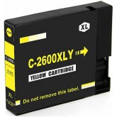 Canon PGI-2600XL Yellow Compatible Ink Cartridge