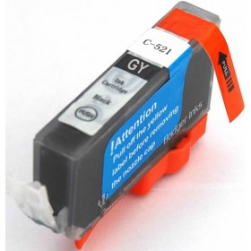 Canon CLI 521GY Grey Compatible Ink Cartridge