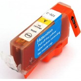Canon CLI 521Y Yellow Compatible Ink Cartridge