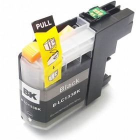 Brother LC 133BK Black Compatible Ink Cartridge