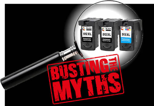 Common Myths about Generic Printer Cartridges