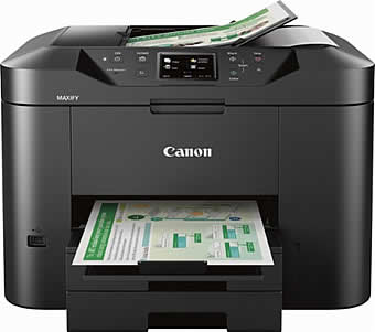 How to remove Ink Cartridges from a Canon Maxify Printer