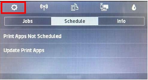 Turn off HP Printer Firmware Updates